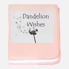 Dandelion Wishes baby blanket