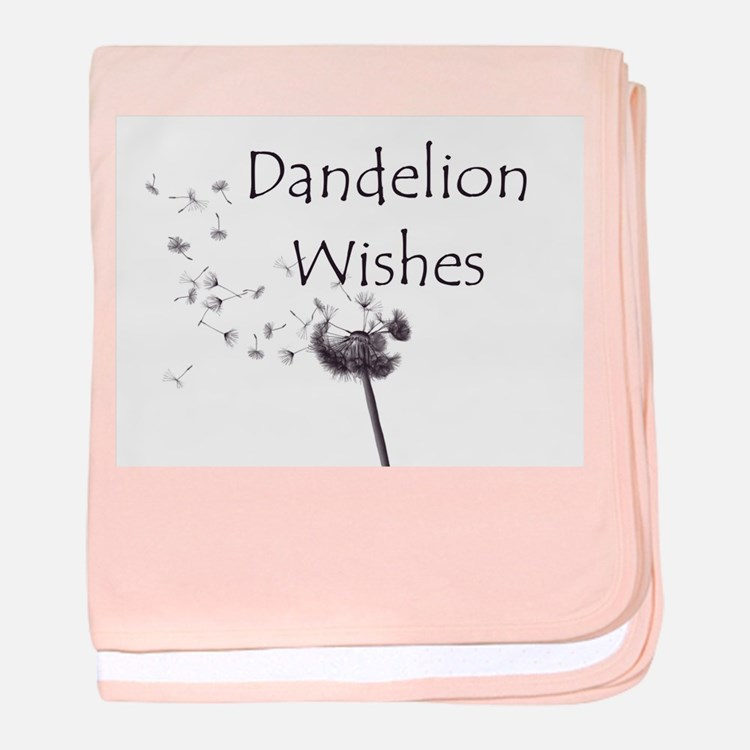 Dandelion Wishes baby blanket