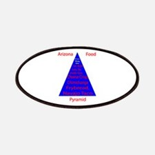 Arizona Food Pyramid Patches