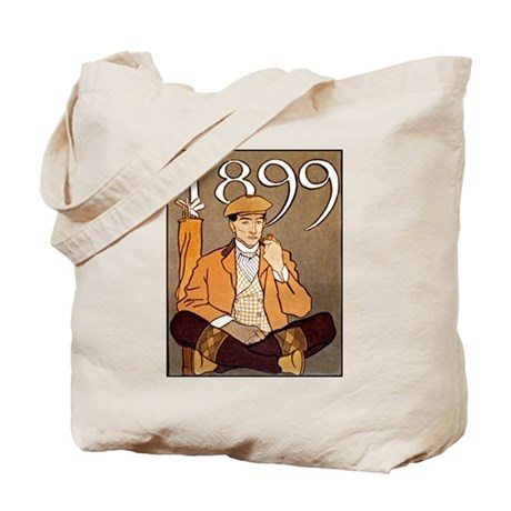 Gentleman Golfer Tote Bag