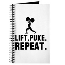 Lift, Puke, Repeat. Journal