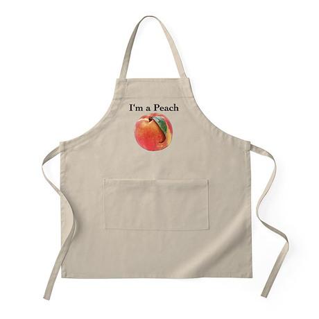 Peach Apron