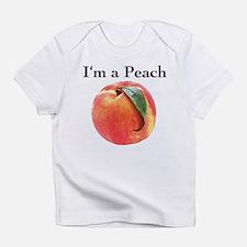 Peach Infant T-Shirt