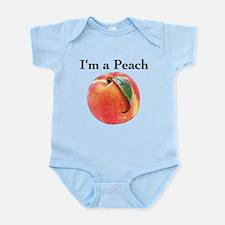 Peach Infant Bodysuit