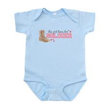 Unique Army fiancee Infant Bodysuit