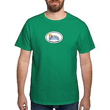 Dewey Beach DE - Oval Design T-Shirt