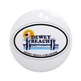 Dewey beach Ornaments