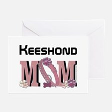 Keeshond MOM Greeting Cards (Pk of 20)