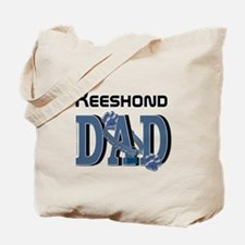 Keeshond DAD Tote Bag