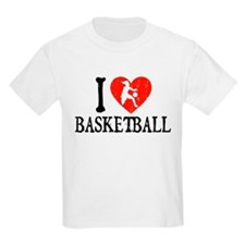 I Heart Basketball - Girl T-Shirt