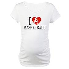 I Heart Basketball - Girl Shirt
