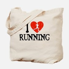 I Heart Running - Girl Tote Bag