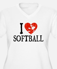 I Heart Softball - Girl T-Shirt