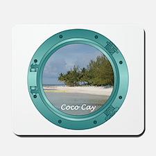 Coco Cay Porthole Mousepad