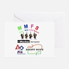 Unique Logo backs Greeting Cards (Pk of 20)