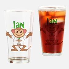 Little Monkey Ian Drinking Glass