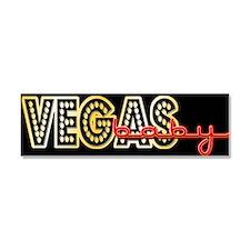 Vegas Baby Car Magnet 10 x 3