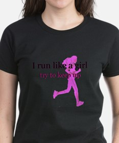 I Run Like a Girl Tee