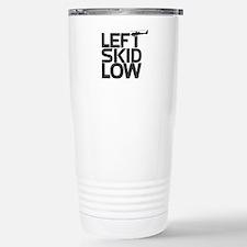 """Left Skid Low"" Stainless Steel Travel Mug"