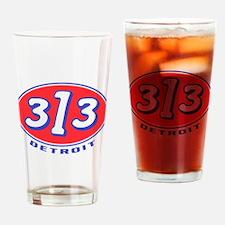 Cute 313 Drinking Glass