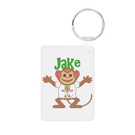 Little Monkey Jake Aluminum Photo Keychain
