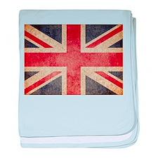 UK Faded baby blanket