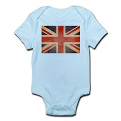 UK Faded Infant Bodysuit
