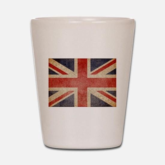 UK Faded Shot Glass