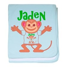 Little Monkey Jaden baby blanket