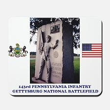 143rd Penn. Infantry Mousepad