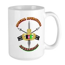 SOF - Special Operations - Afghanistan Mug