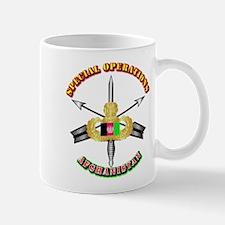 SOF - Special Operations - Afghanistan Mug