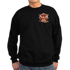 God Created Firefighters to m Sweatshirt