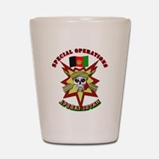 SOF - Special Operations - Afghanistan Shot Glass
