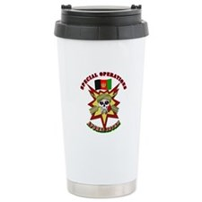 SOF - Special Operations - Afghanistan Travel Mug