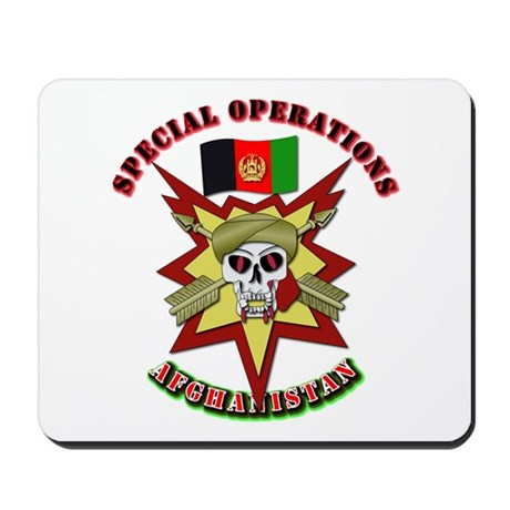SOF - Special Operations - Afghanistan Mousepad