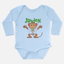 Little Monkey Jayden Long Sleeve Infant Bodysuit