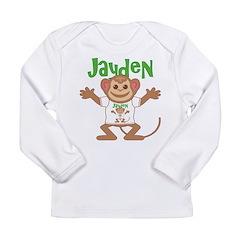 Little Monkey Jayden Long Sleeve Infant T-Shirt