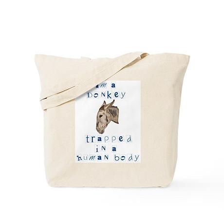 I'm a Donkey Tote Bag