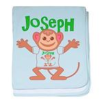 Little Monkey Joseph baby blanket