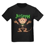 Little Monkey Joseph Kids Dark T-Shirt