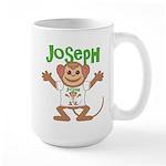 Little Monkey Joseph Large Mug