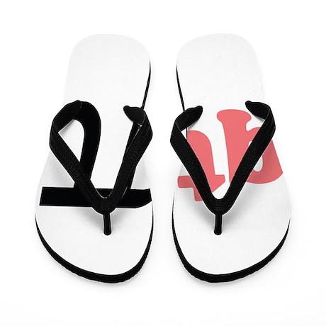 Math Humor QT Pi Flip Flops