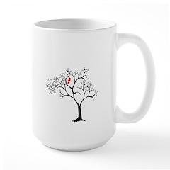 Cardinal in Snowy Tree Mug