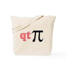 Math Humor QT Pi Tote Bag