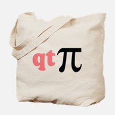 Math Humor QT Pi Tote Bag