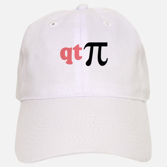 Math Humor QT Pi Baseball Baseball Cap