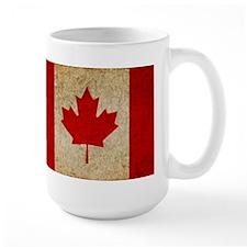 Faded Canadian Flag Mug