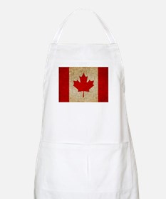 Faded Canadian Flag Apron