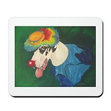 N H Clown  Mousepad